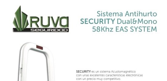 Sistema Antihurto AM modelo SECURITY